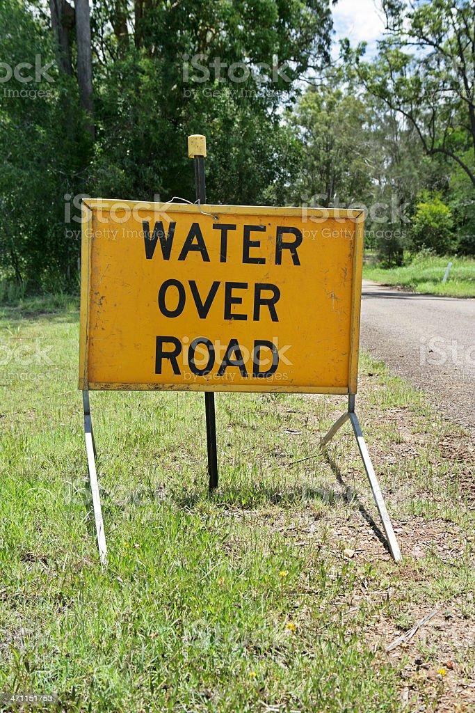 Road Hazard stock photo