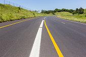 Road Highway Painted Markings