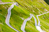 road in Alps