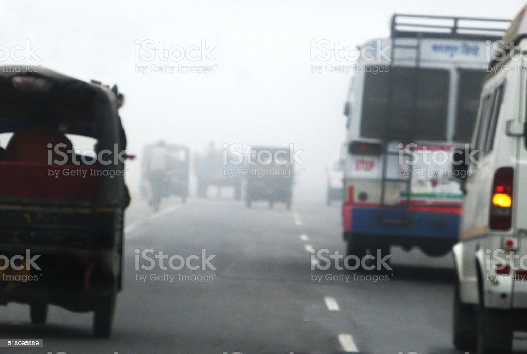 Road in India royalty-free stock photo