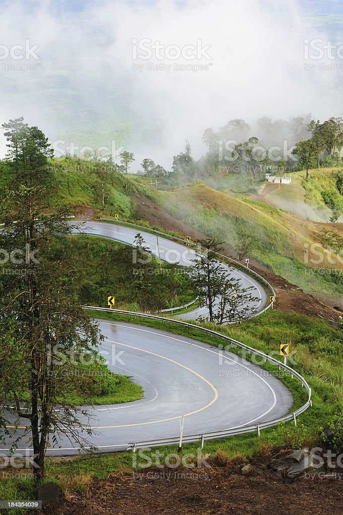 Road in mountain royalty-free stock photo