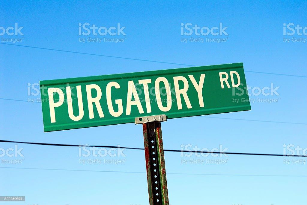 Road in Purgatory stock photo