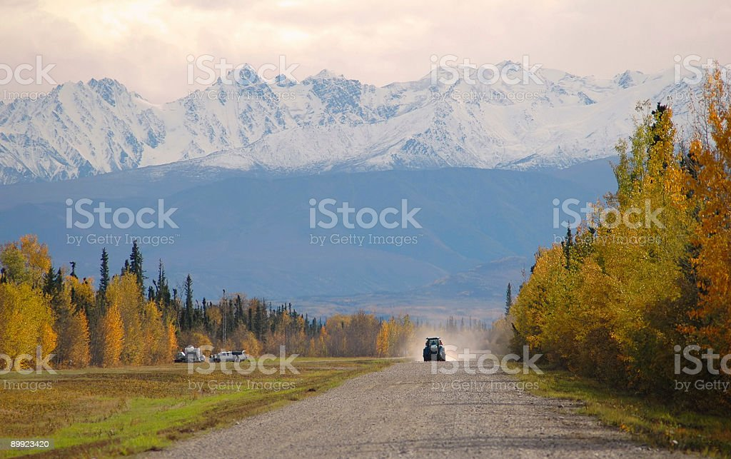 Road in the countryside royalty-free stock photo