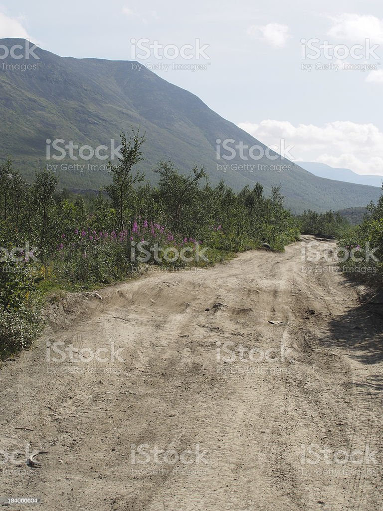 road in the mountains royalty-free stock photo