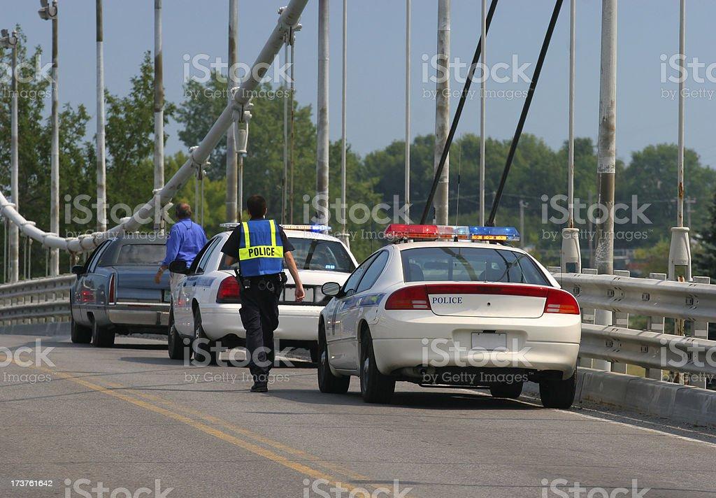 Road Infraction stock photo