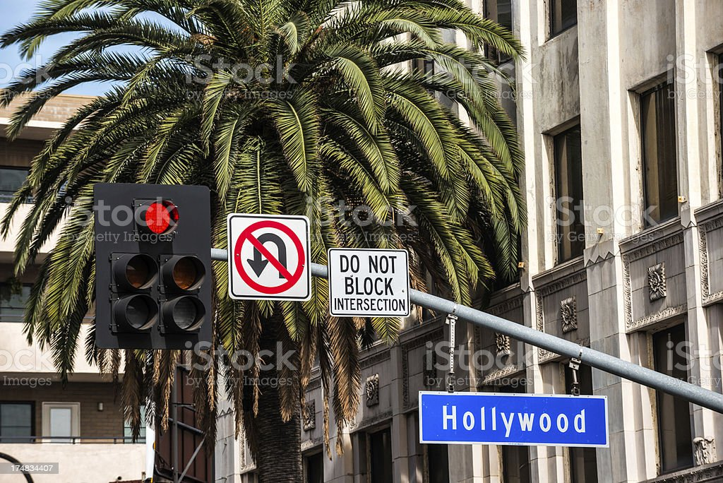 Road Intersection royalty-free stock photo