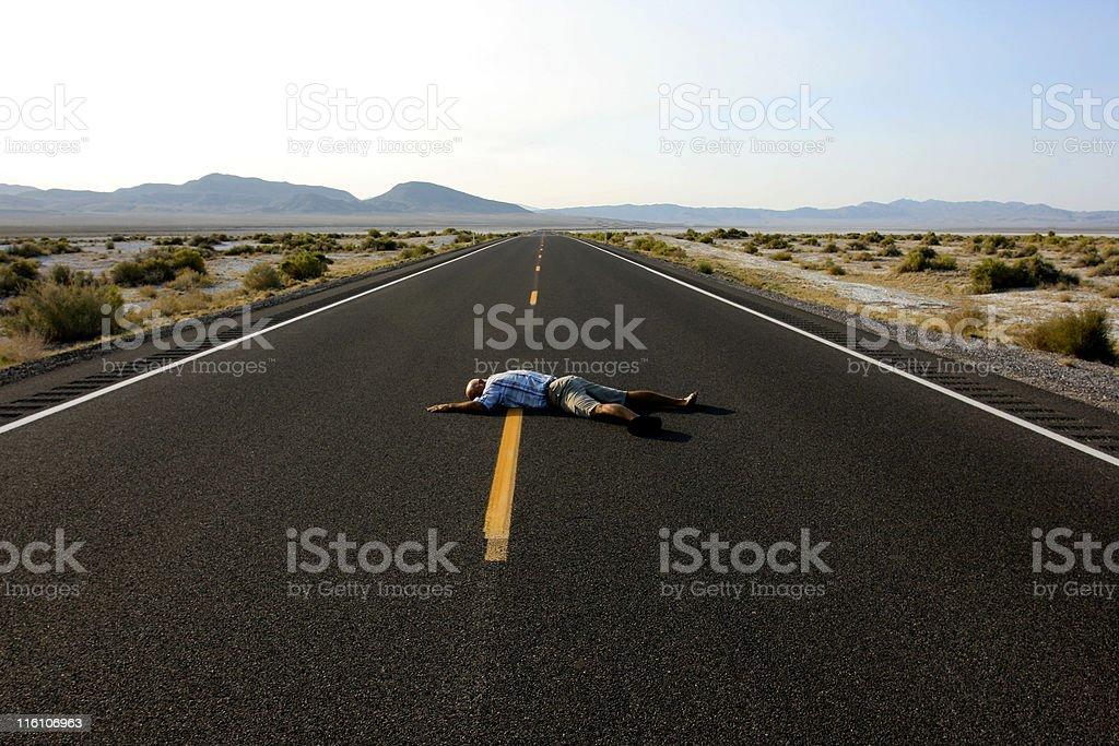 Road Kill stock photo