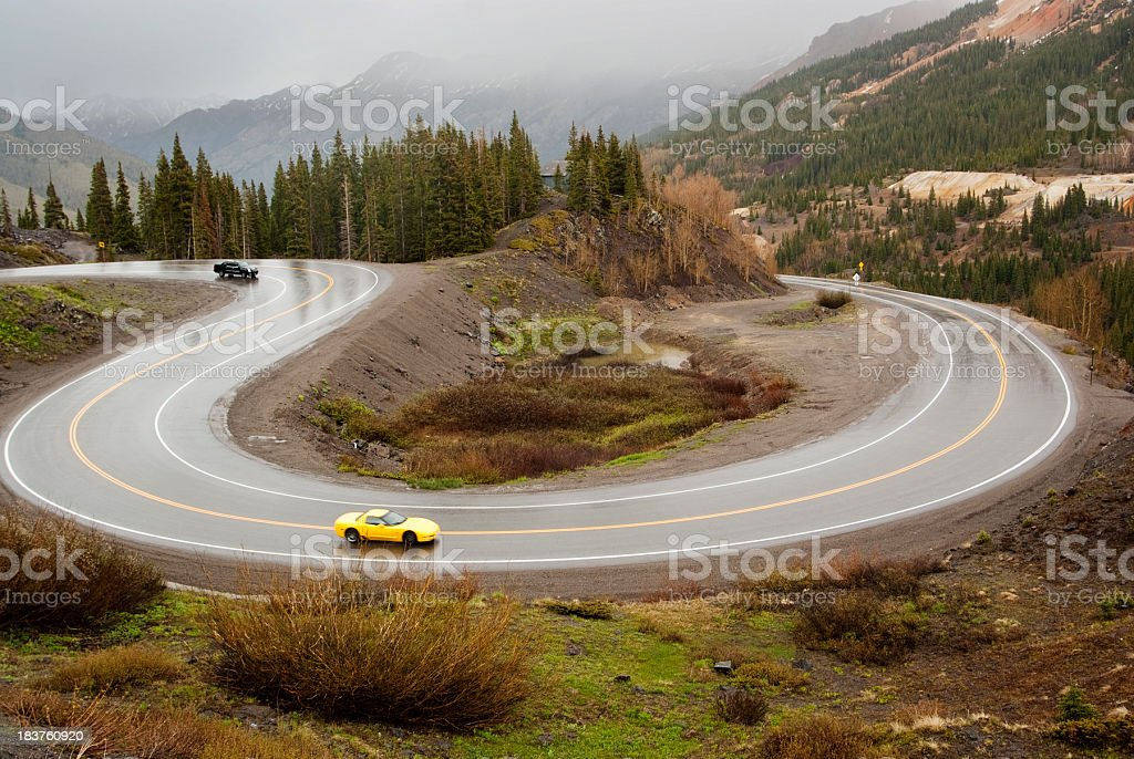 road landscape stock photo