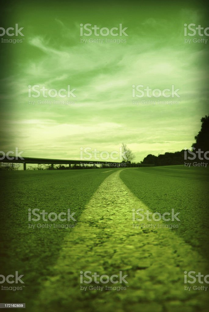 road line royalty-free stock photo