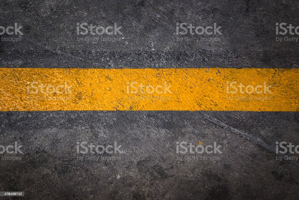 Road Line stock photo