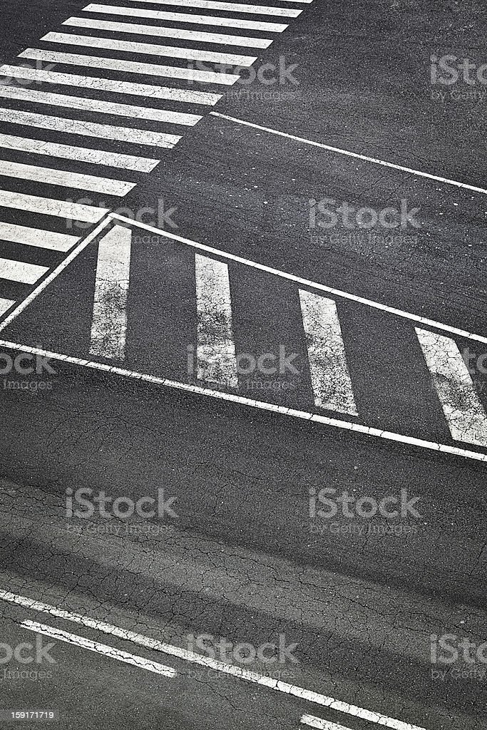 Road Marks in Airport Runway royalty-free stock photo