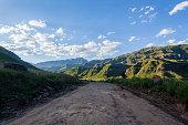 Road Mountains Explore