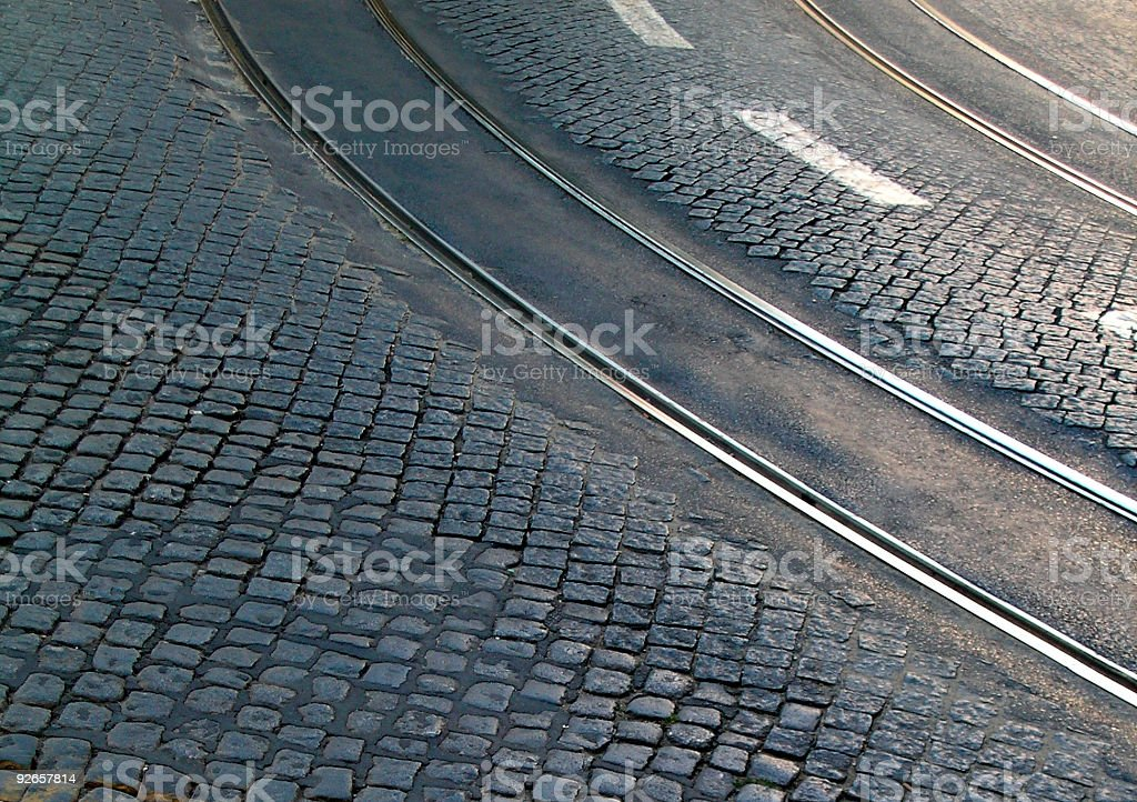 road patterns royalty-free stock photo