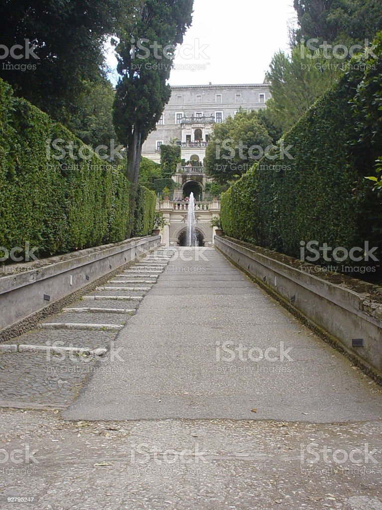 Road perspective royalty-free stock photo