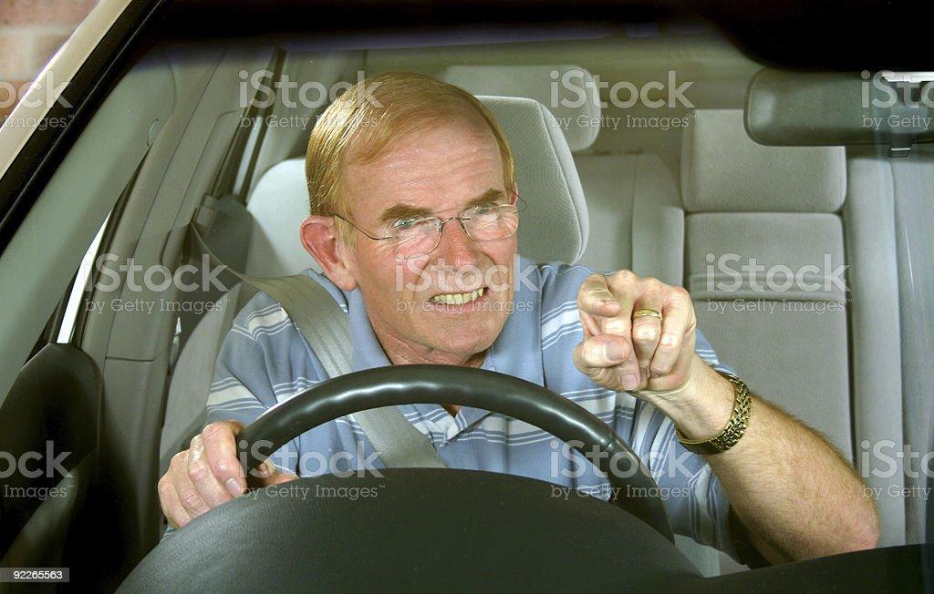 Road Rage 1 stock photo