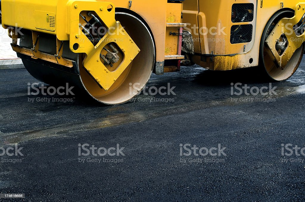 Road Roller royalty-free stock photo