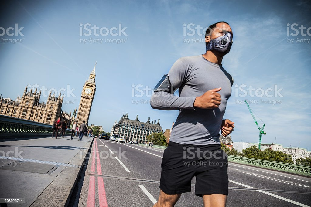 Road Runner in Central London stock photo