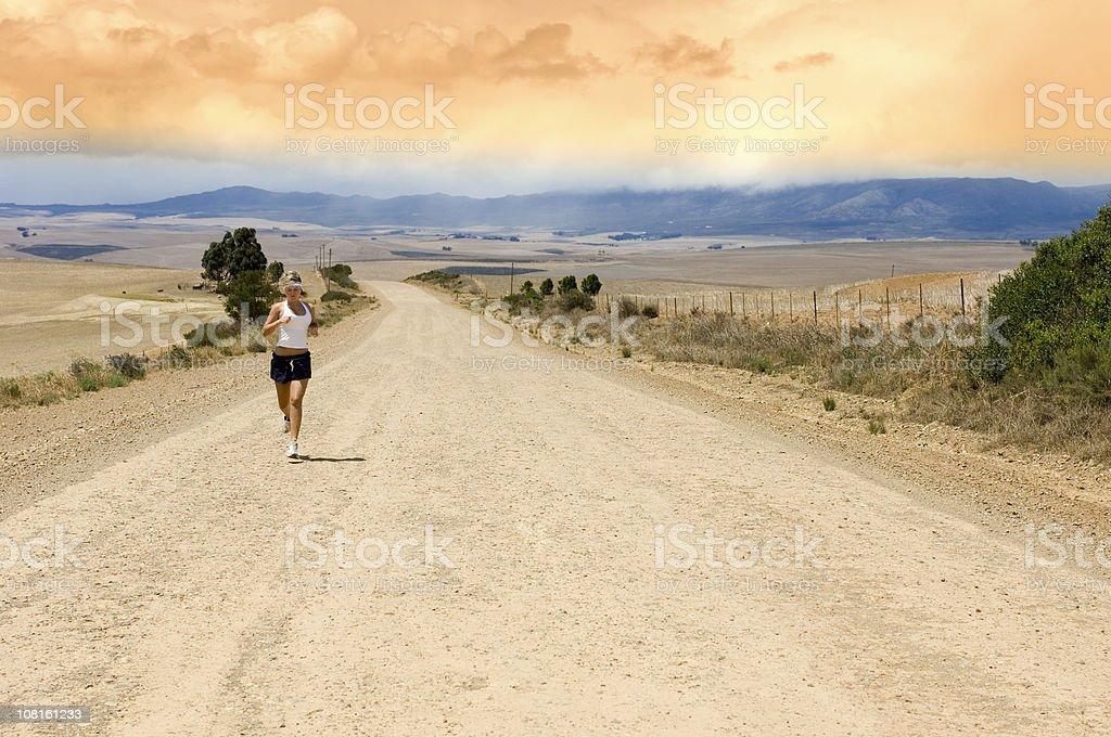Road Runner Sky stock photo