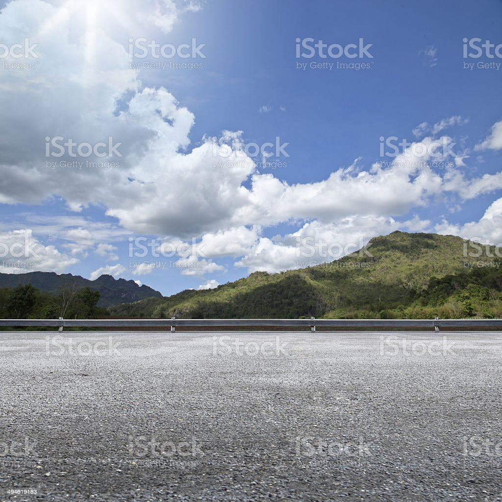 Road Side stock photo