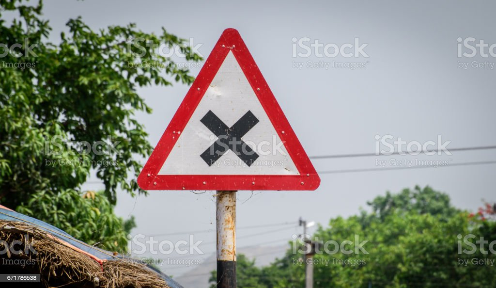 Road sign. stock photo