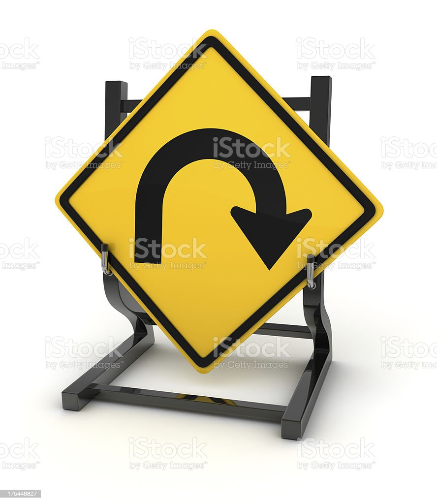 Road Sign Series royalty-free stock photo