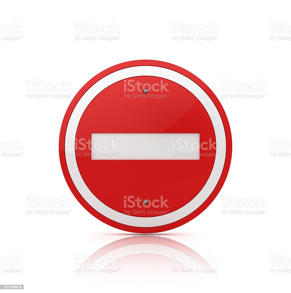 Road Sign with STOP Text stock photo