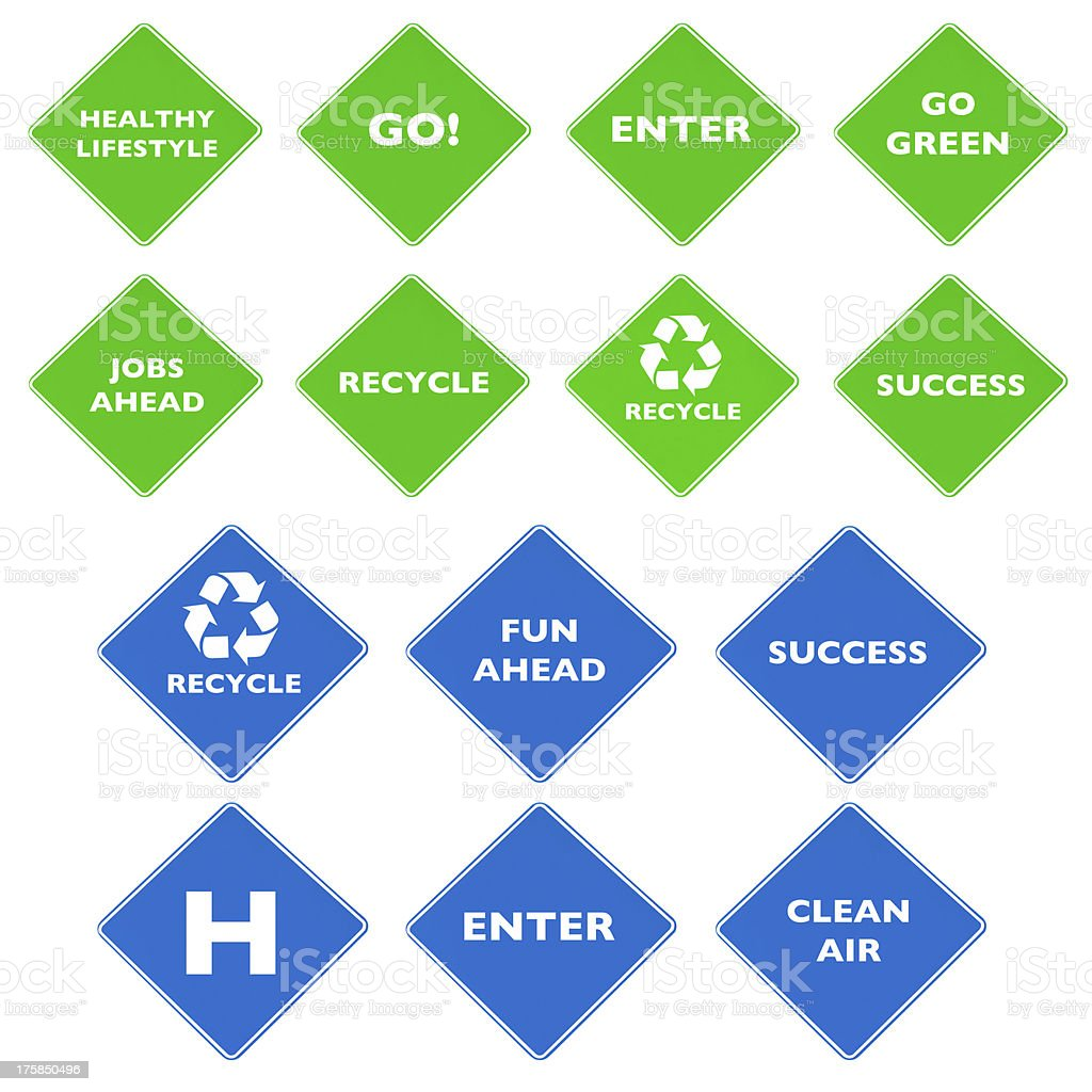 Road signs, Concepts and Ideas royalty-free stock photo