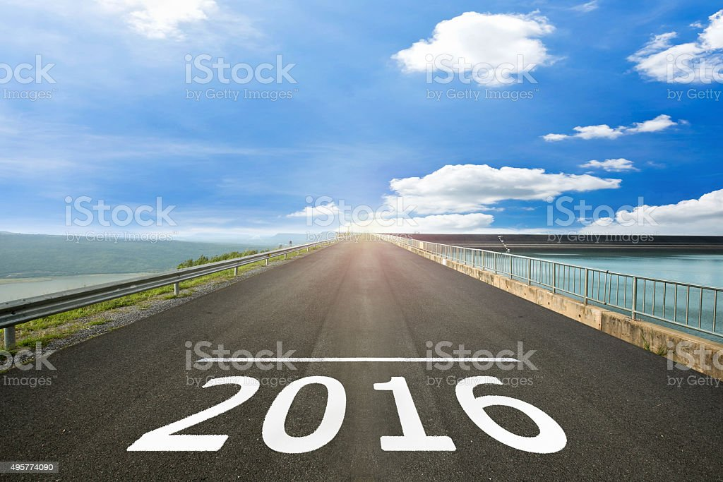 2016 - Road surface of begin to the Christian Era. stock photo