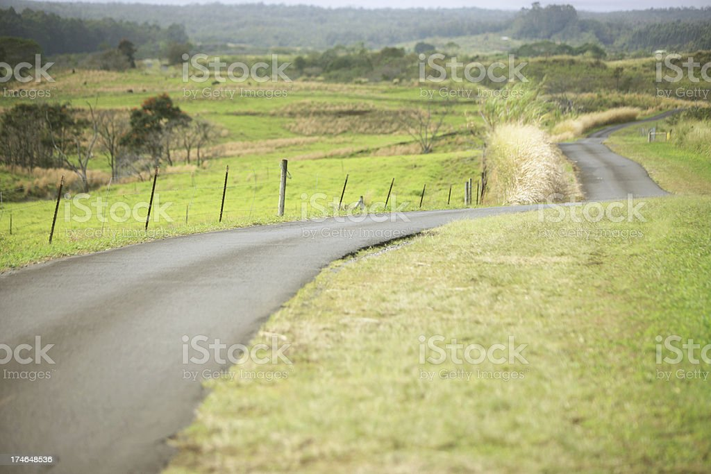 Road through landscape royalty-free stock photo
