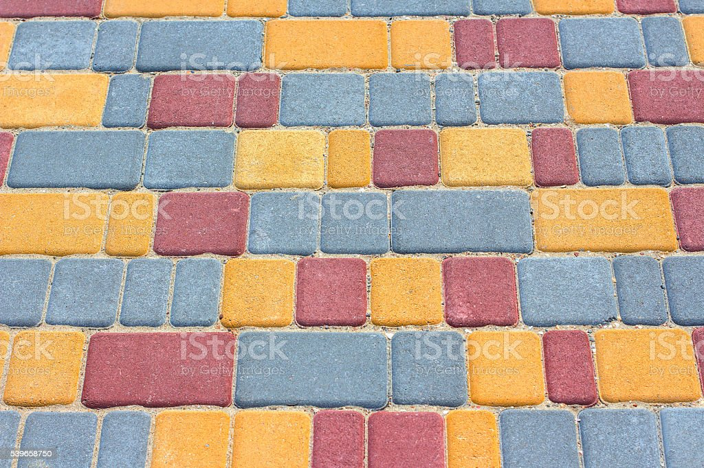 road tile stock photo