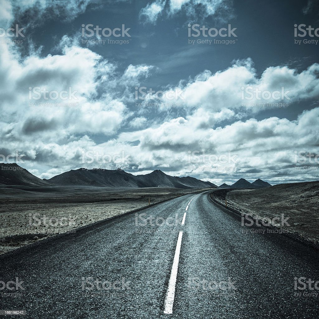 Road to freedom royalty-free stock photo