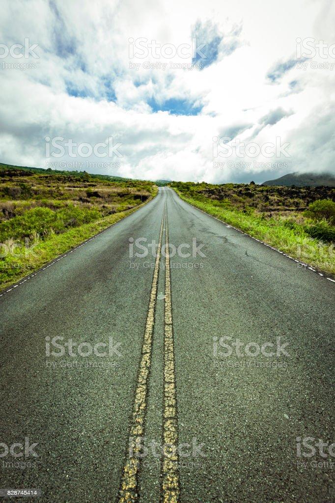 road to hana, maui, hawaii islands stock photo
