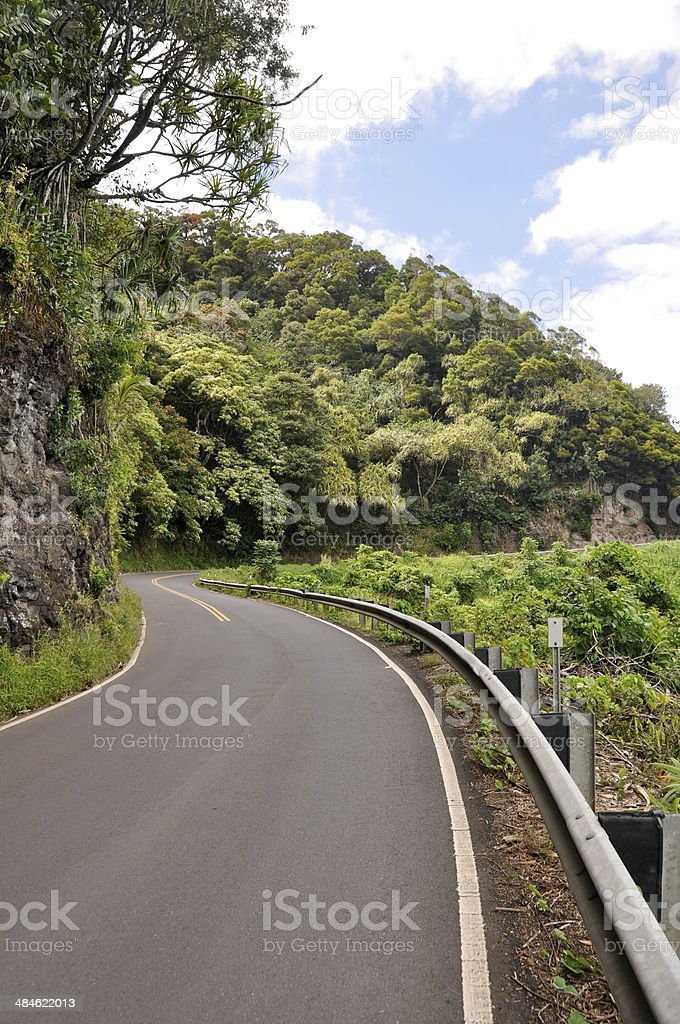 Road to Hana, Maui (USA) stock photo
