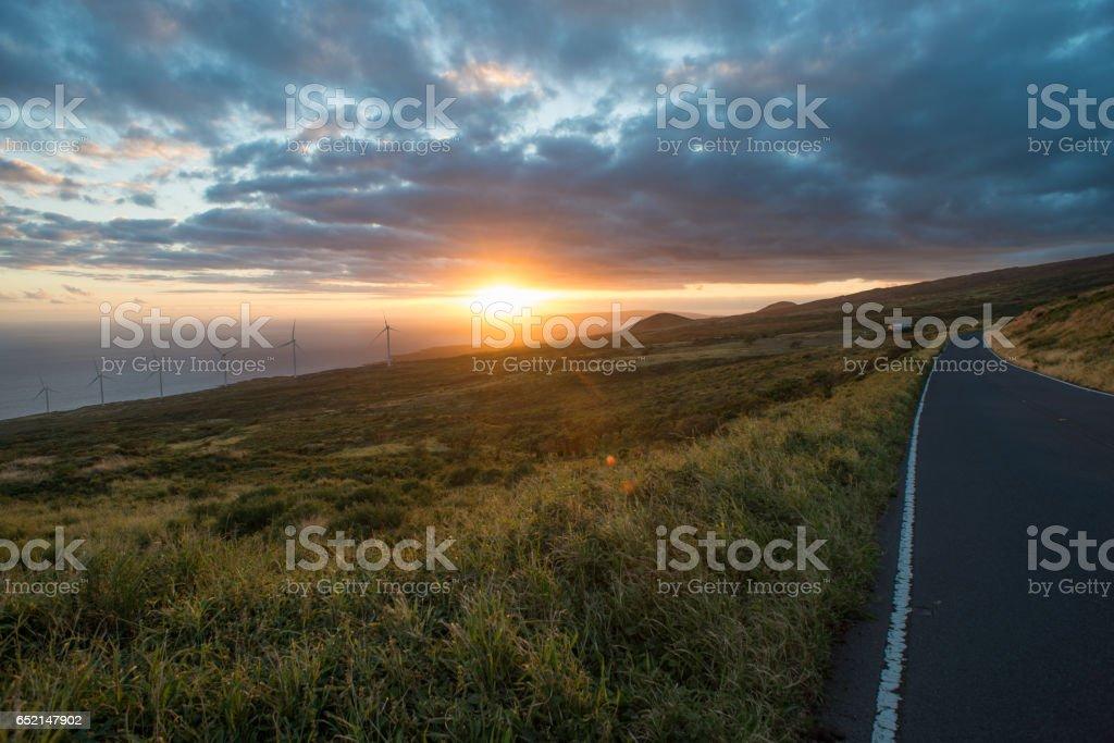 Road to Hana - Maui stock photo