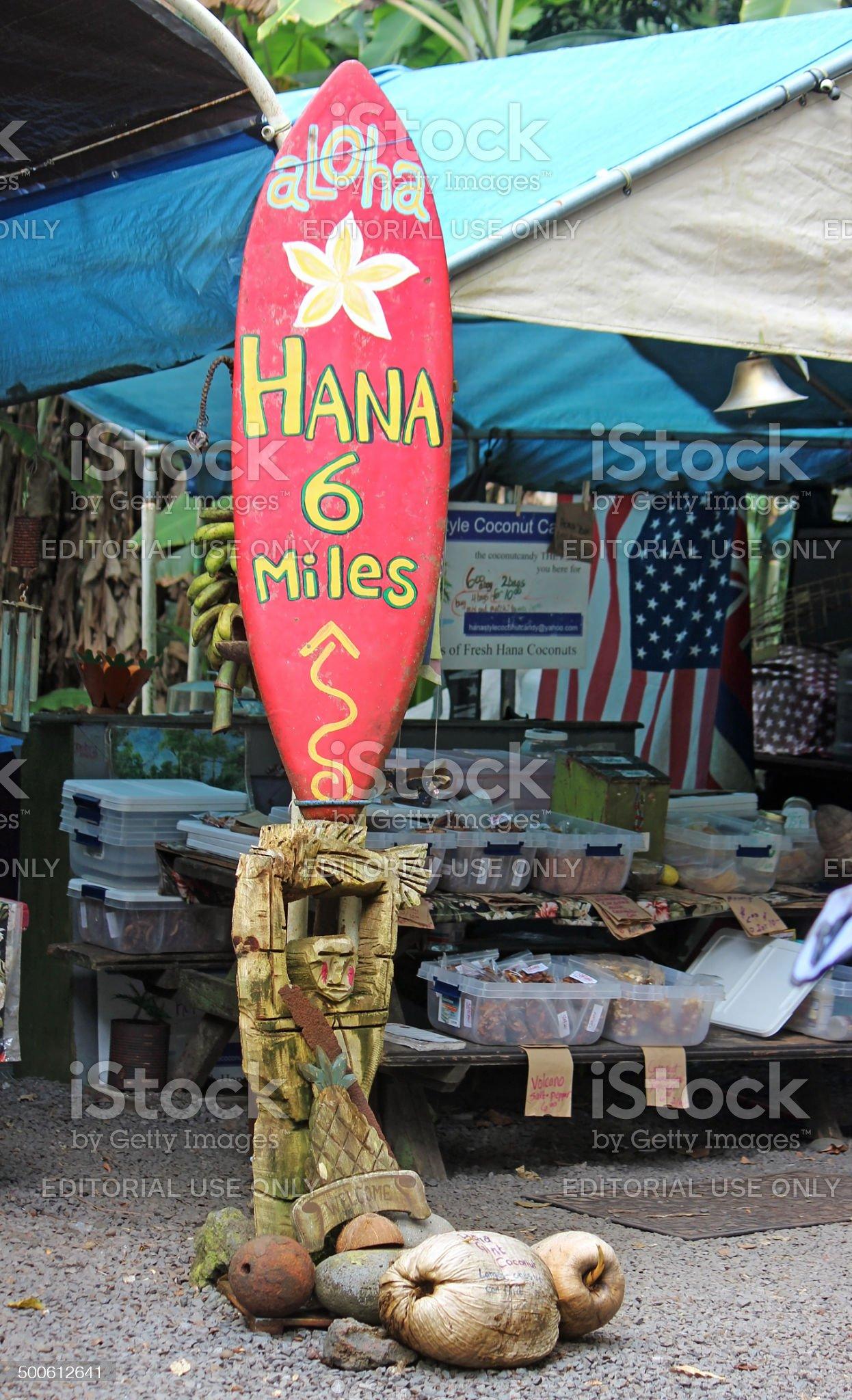 Road to Hana royalty-free stock photo