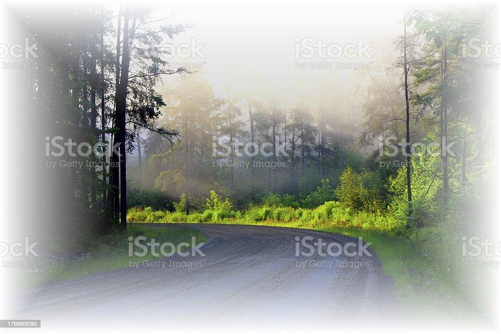 Road to Heaven stock photo