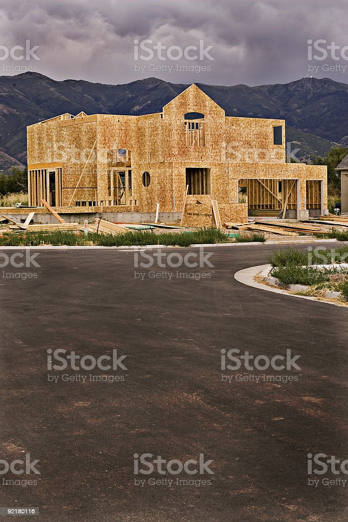 Road to Housing Renewal w/Copyspace royalty-free stock photo