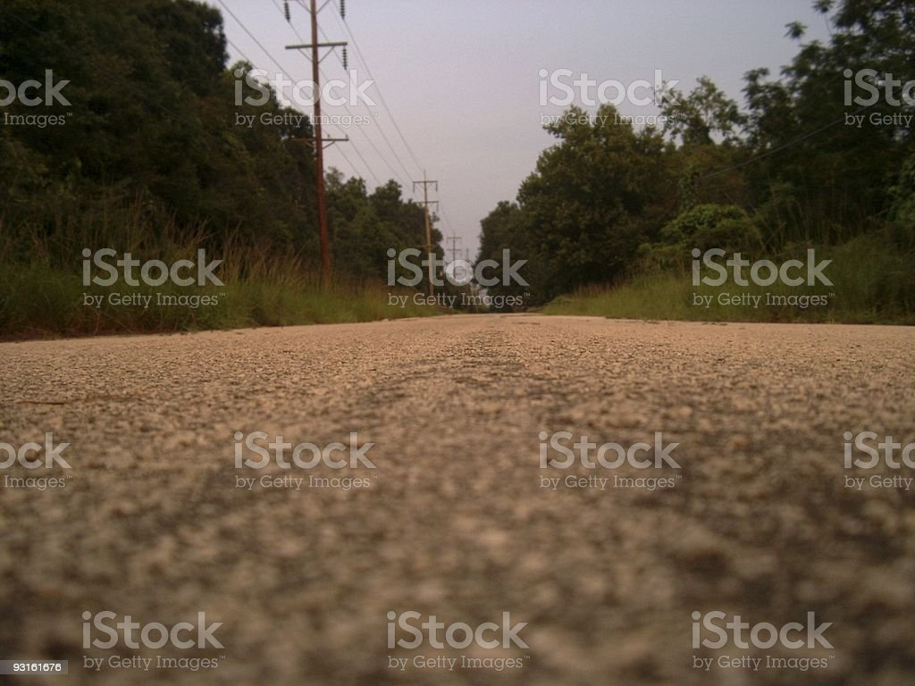 Road to no where 2 royalty-free stock photo