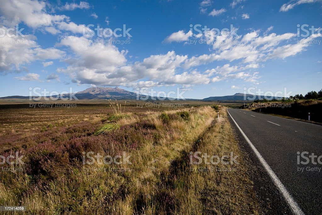Road to Ruhapeu royalty-free stock photo
