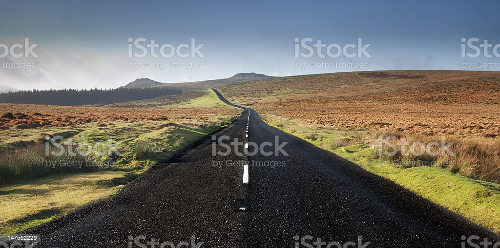 Road to Success ? Or Nowhere ? stock photo