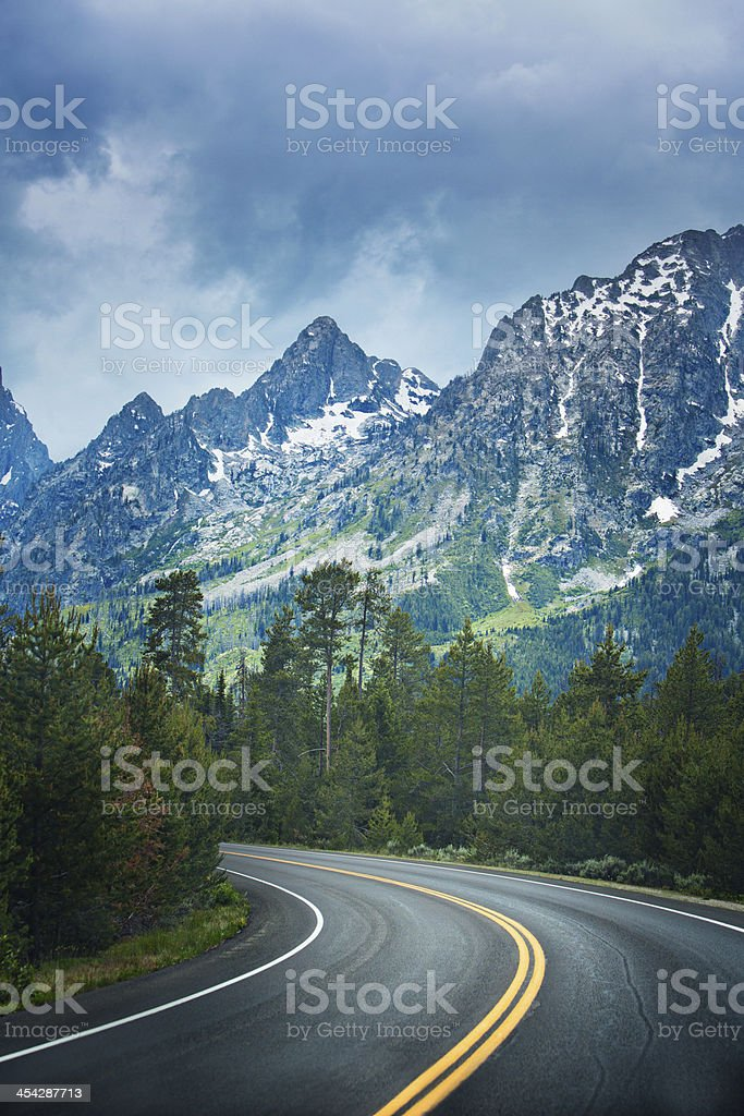 Road to the beauty royalty-free stock photo