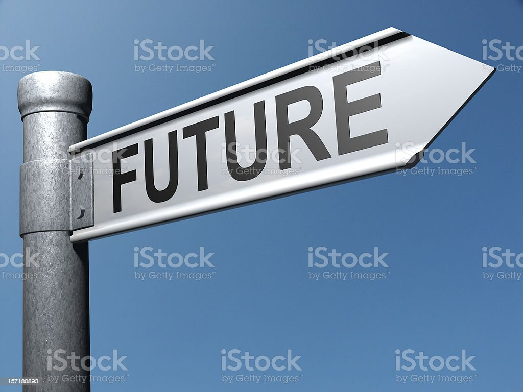 Road to the Future stock photo
