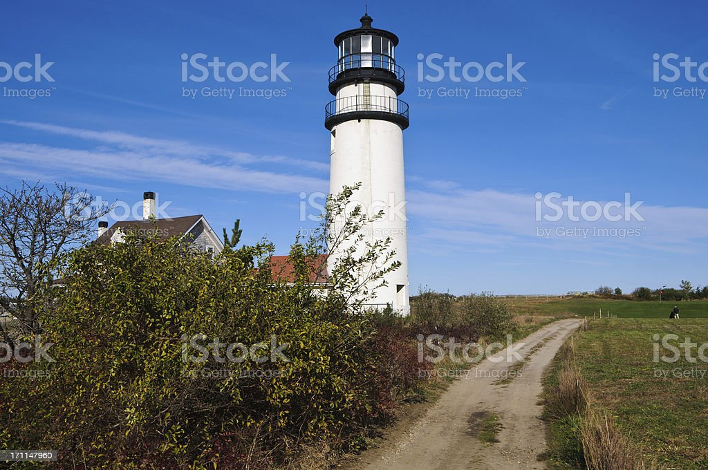 Road to the Lighthouse royalty-free stock photo