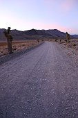 Road to the Racetrack Playa, in Death Valley NP, California