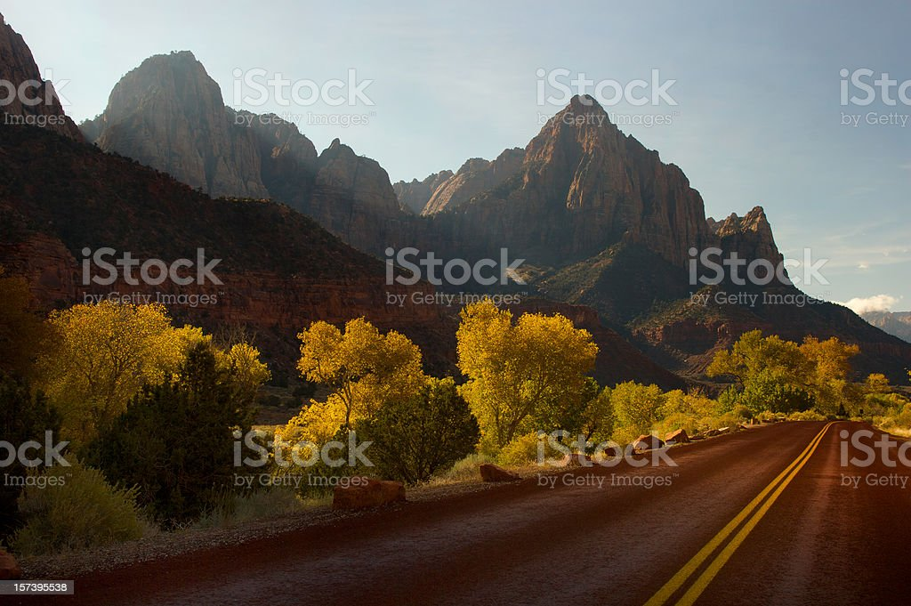 Road to the Watchman royalty-free stock photo
