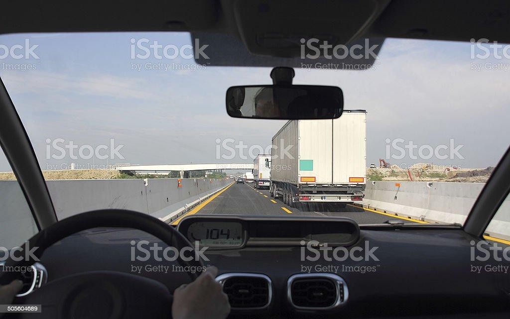 Road traffic stock photo
