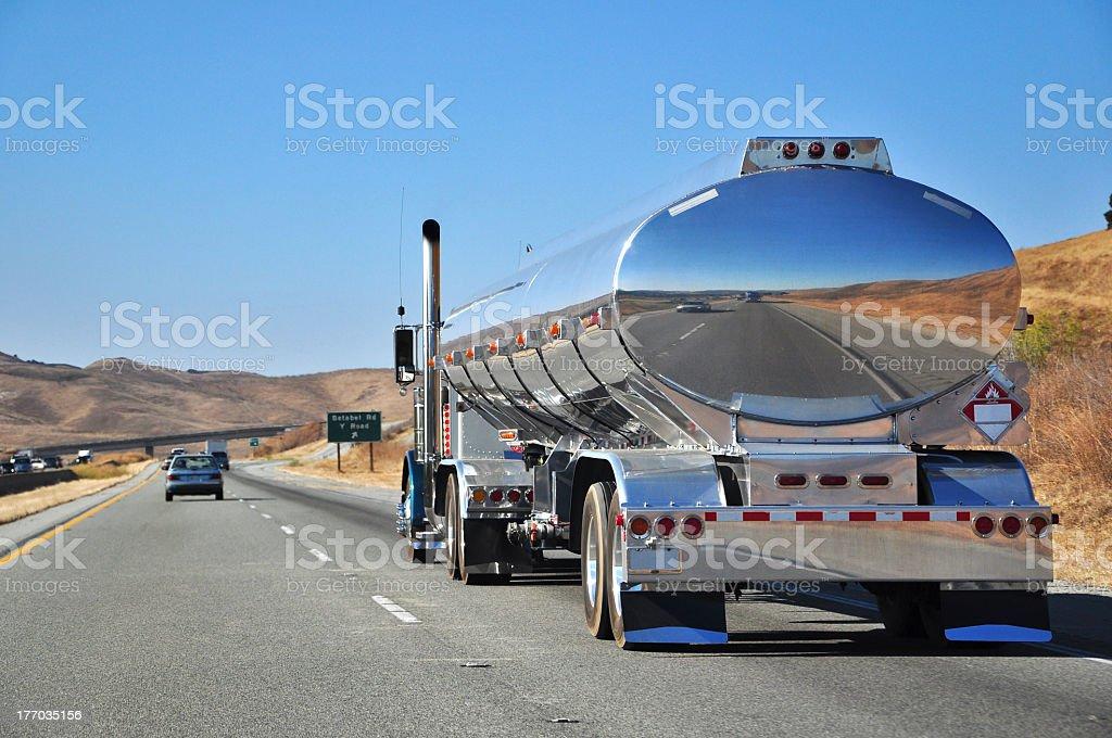 Road Train stock photo