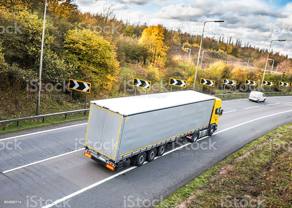 Road transport stock photo