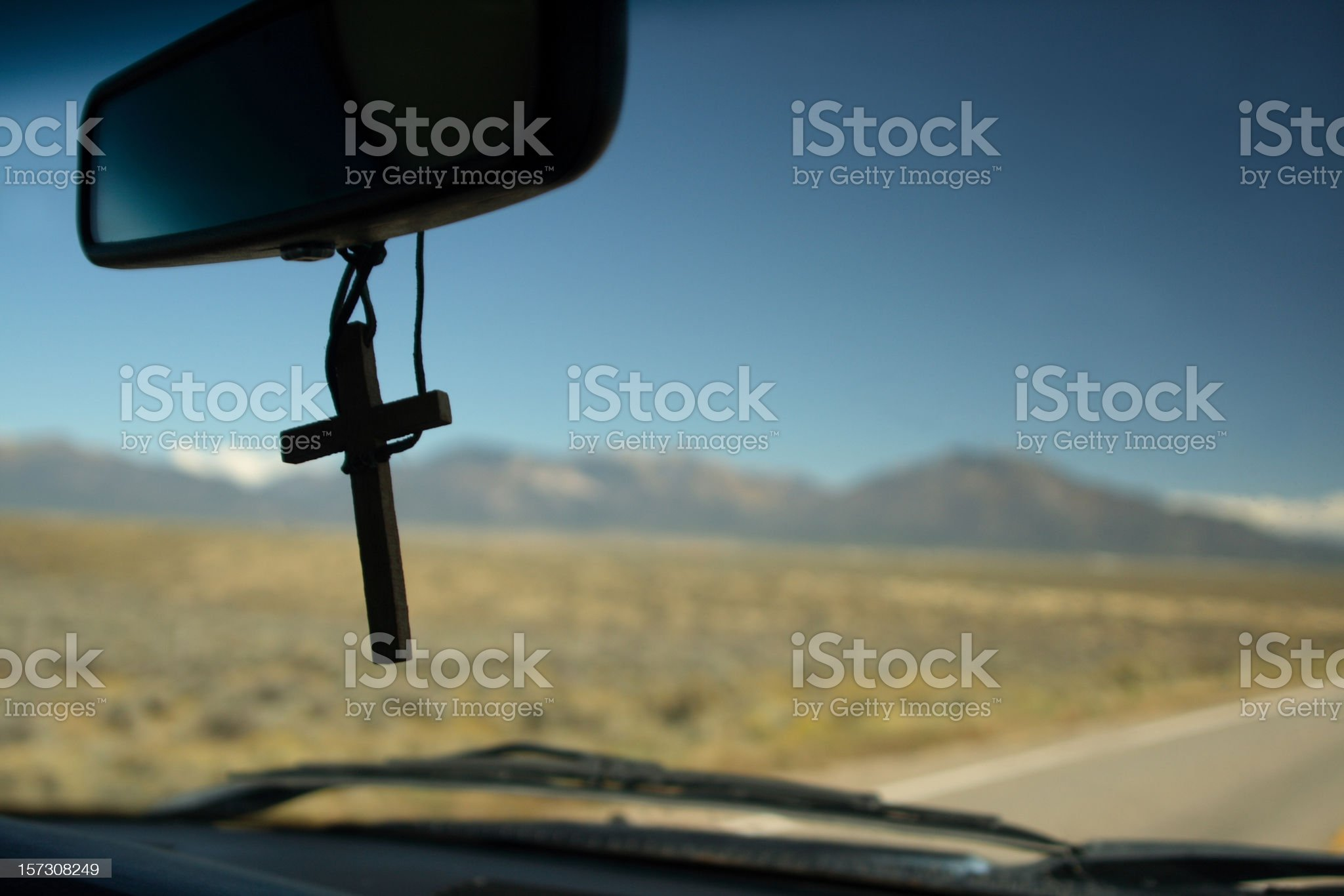 Road Trip for Jesus royalty-free stock photo
