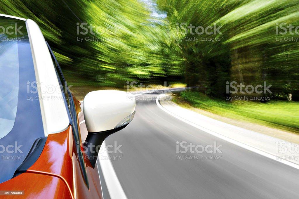 Road trip stock photo